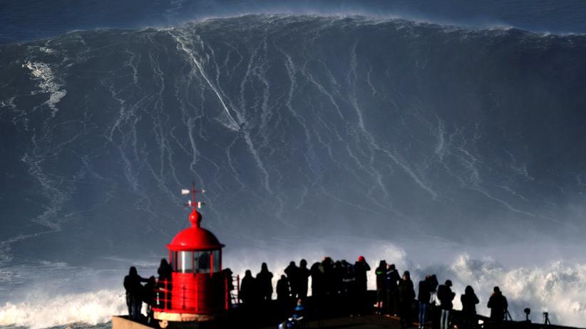 Nazaré: An dieser Küste tobt ein Monster
