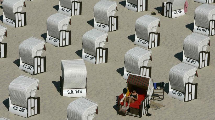 Strandkorbvermietung: Was ich im Sommer einnehme, reicht fürs ganze Jahr