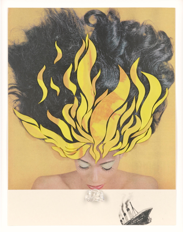 """Berlin Art Week: Ellen Gallaghers """"Raveen"""" aus der Serie """"DeLuxe"""", 2004/05, ist eines von 300 Meisterwerken auf Papier in der Eröffnungsausstellung des Palais Populaire."""