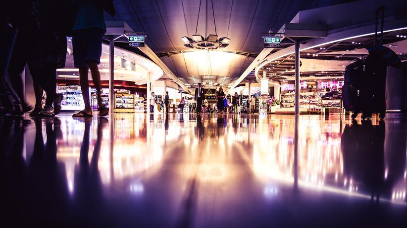 Debattenkultur: Am Flughafen
