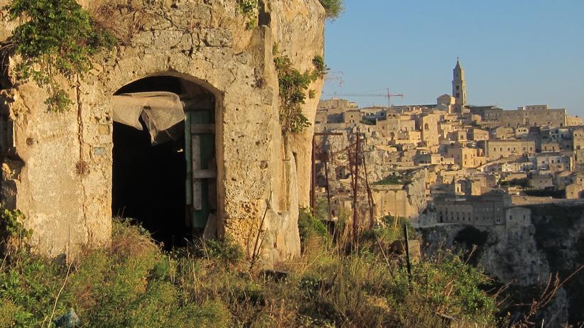 Süditalien: Die Höhlen von Matera