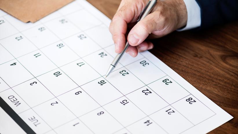 Kalender: Was Schönes zum Aufhängen