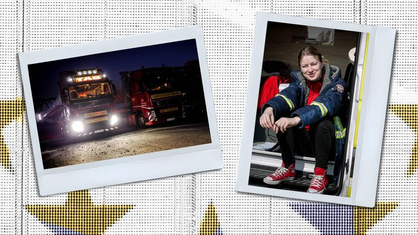 Truck driver: On the Road with Iwona