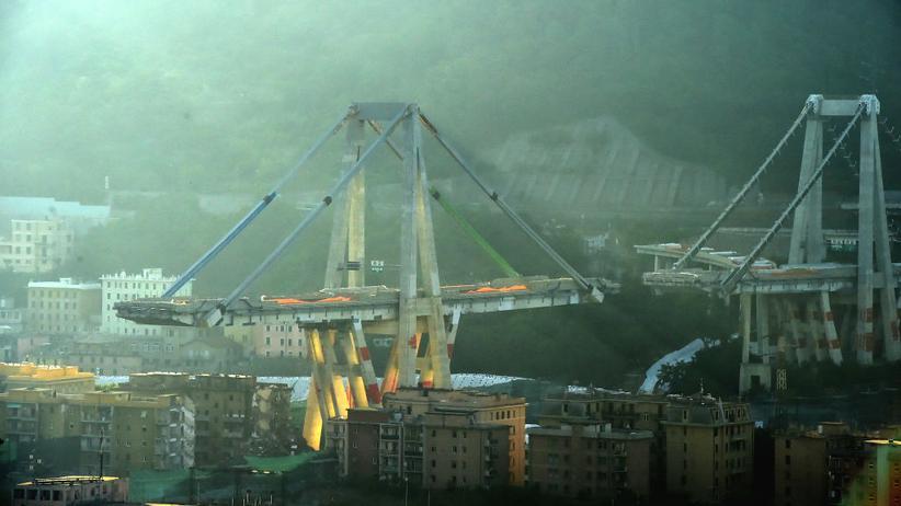 Genua: Die Reste der Morandi-Brücke in Genua sind inzwischen verschwunden. Im April 2020 soll die neue Brücke stehen.