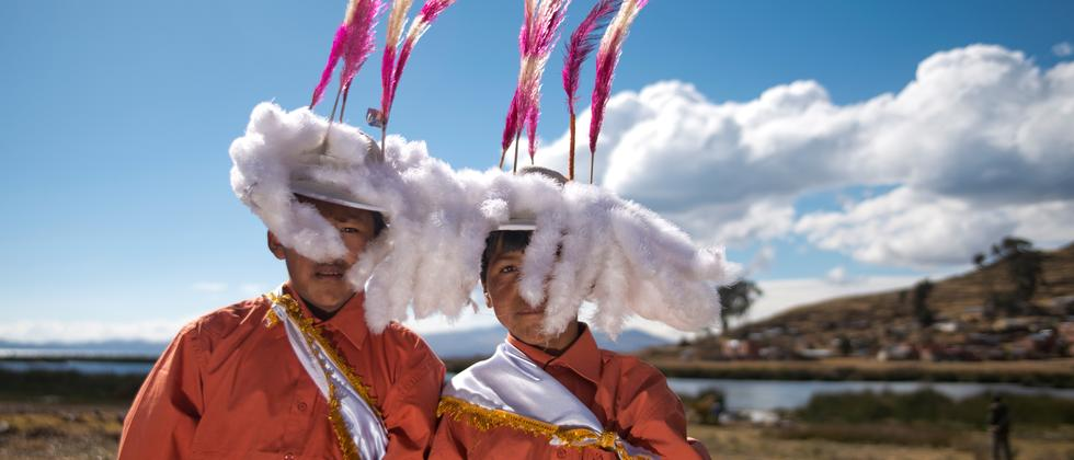Titicacasee: Gott, See, Dank