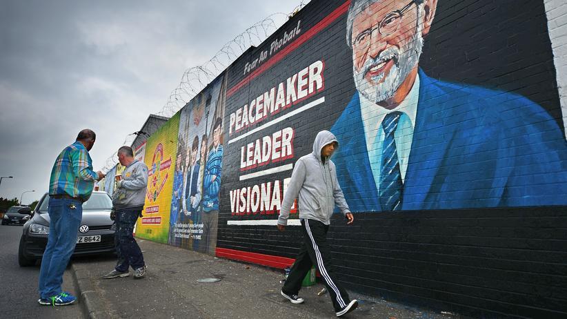 Belfast: Hinter der Mauer wohnen die anderen