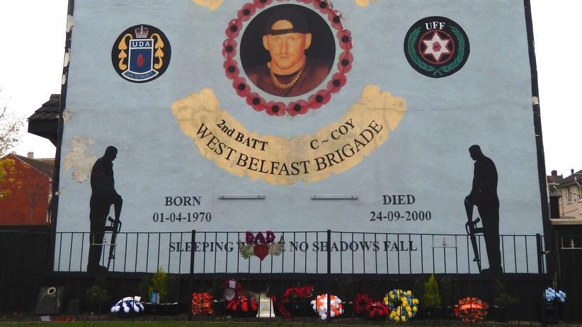 Belfast: Mauern
