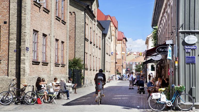 In Göteborgs Innenstadt