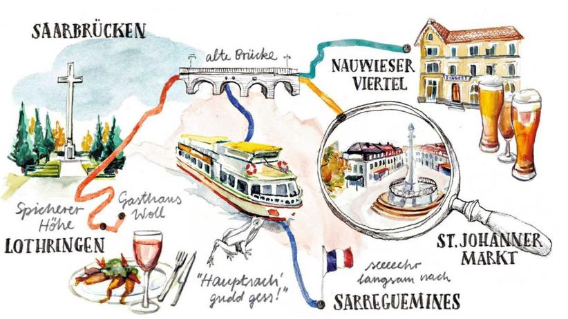 Entdecken, Saarland, Saarbrücken, Tourismus, Saarland