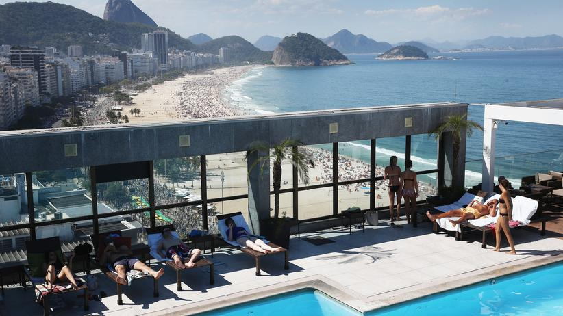Bundeskartellamt: Ein Hotel an der Copacabana im brasilianischen Rio de Janeiro