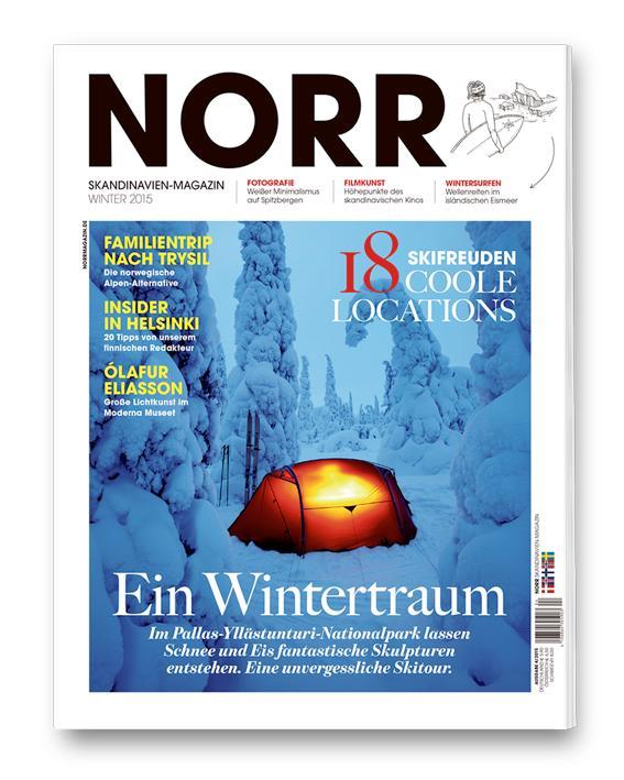 "Erschienen im Skandinavien-Magazin ""NORR"", Winter 2015"
