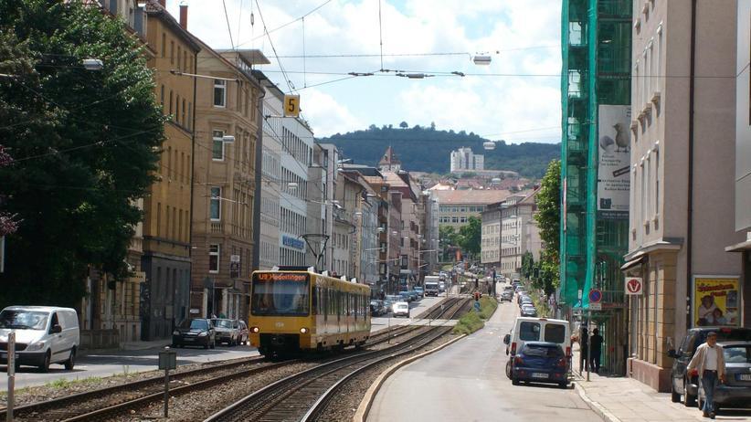Gestrandet in Stuttgart