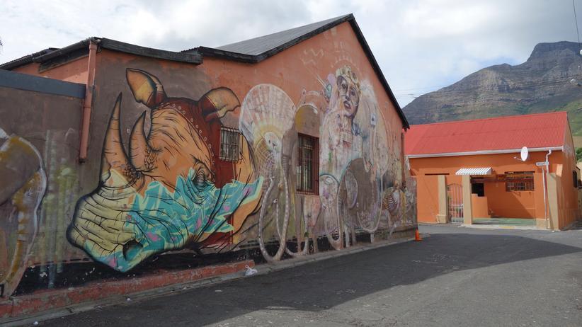 Streetart mit lokalen Einflüssen
