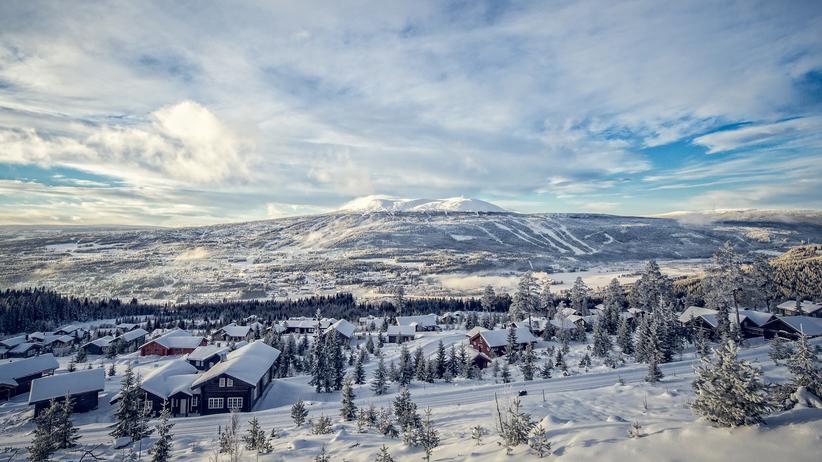 Norwegen: Allein auf weiter Flur: Der rund 1000 Meter hohe Trysilfjell ist von Flachland umgeben.