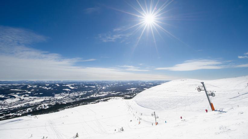 Alpenfeeling: Auch hoch oben in Norwegen scheint die Sonne.