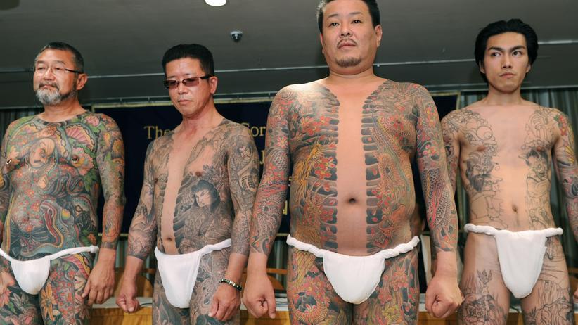 Japan: Die Ganzkörpertattoos dieser Männer stammen von dem berühmten Tätowierer Horiyoshi III.
