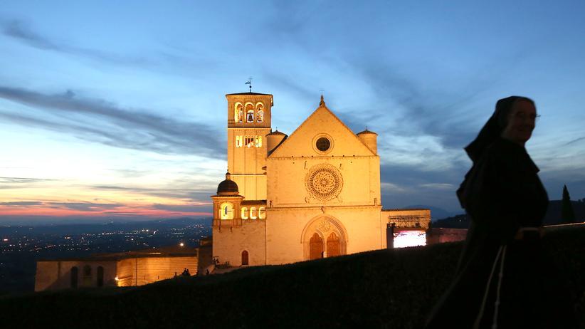 Pilgern: Assisi, Startpunkt des Franziskuswegs