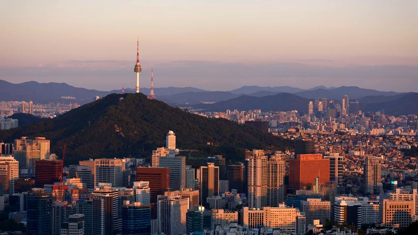Wandern: Die Berge in und um Seoul prägen seine Skyline.