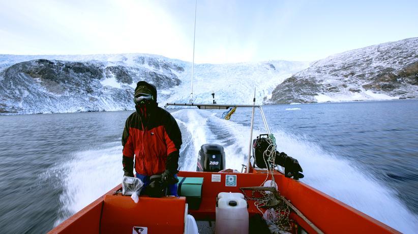 Grönland: Auf Vigo, den Steuermann, ist auch an stürmischen Tagen Verlass.