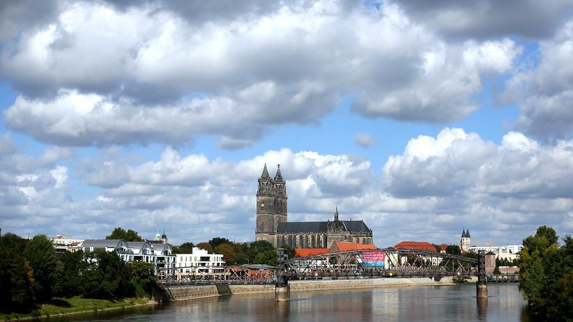 Magdeburg: Vor allem von Weitem wirklich schön