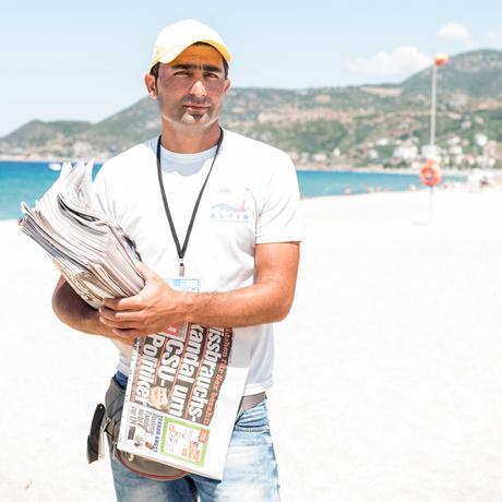 Türkei: Hasan, der Zeitungsverkäufer