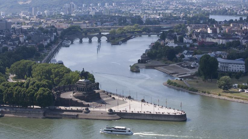 Rheinland-Pfalz: Rhein in die Mosel