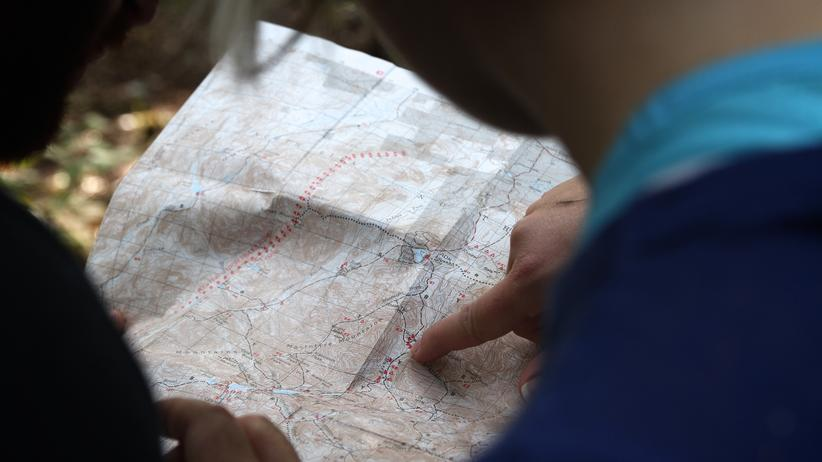 Landkarte: Die Welt à la carte