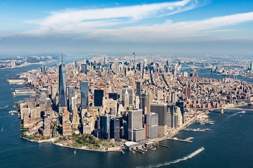 Marvelous 1/11 Manhattan Island   Ansicht Von Süden © Jörg Machirus Pictures