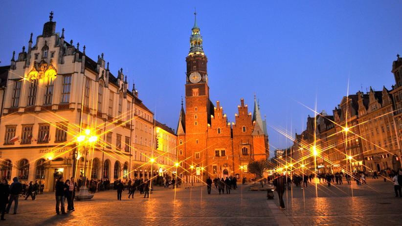 Wroclaw: Breslau am Abend
