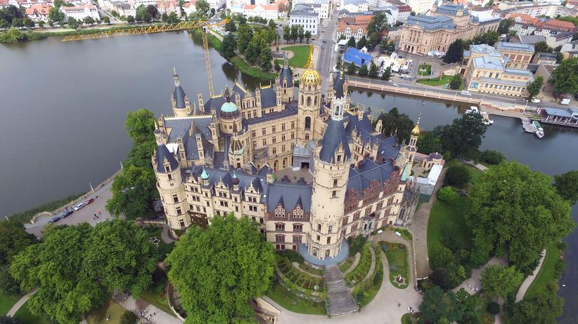 Mecklenburg-Vorpommern: Das Schweriner Schloss