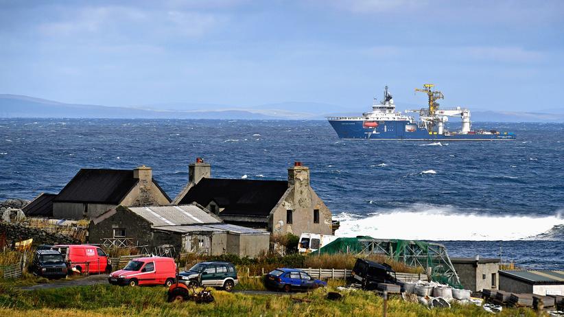 Shetlandinseln, Foula, Ponys