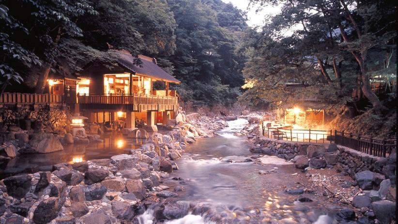 Japan: Rauschen, das einen morgens weckt: Der Takaragawa-Fluss in der Provinz Gunma