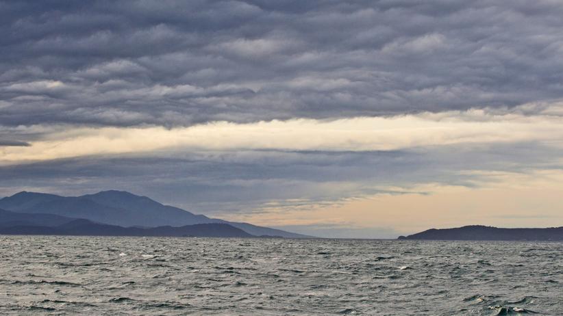 Stewart Island: Sturmwolken über Stewart Island