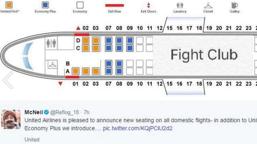 United Airlines: Hier fliegen Sie aus der ersten Reihe!