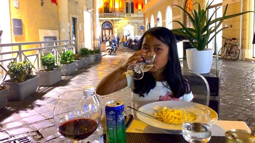 Rom mit Kind: Hier lang, Mama