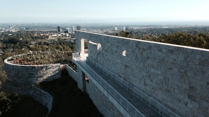 Los Angeles: Getty Museum, Brentwood