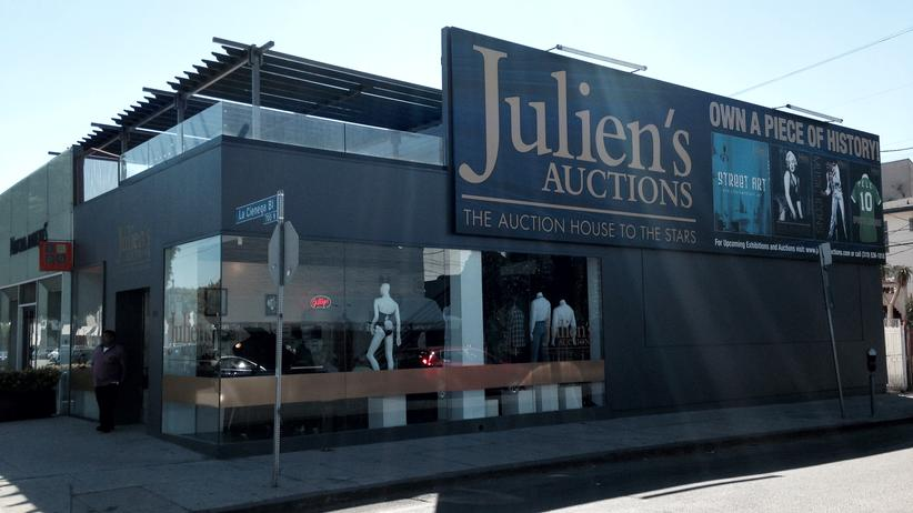 Los Angeles: Julien's Auctions, West Hollywood