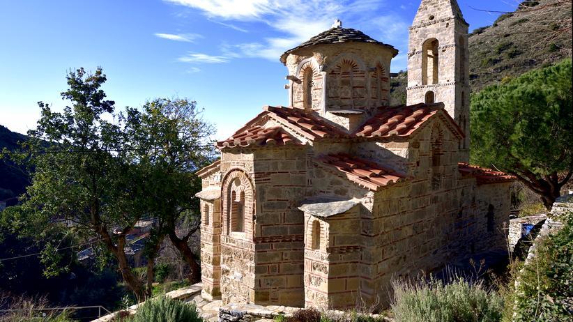 Griechenland: Kirchen-Hopping am Mittelmeer