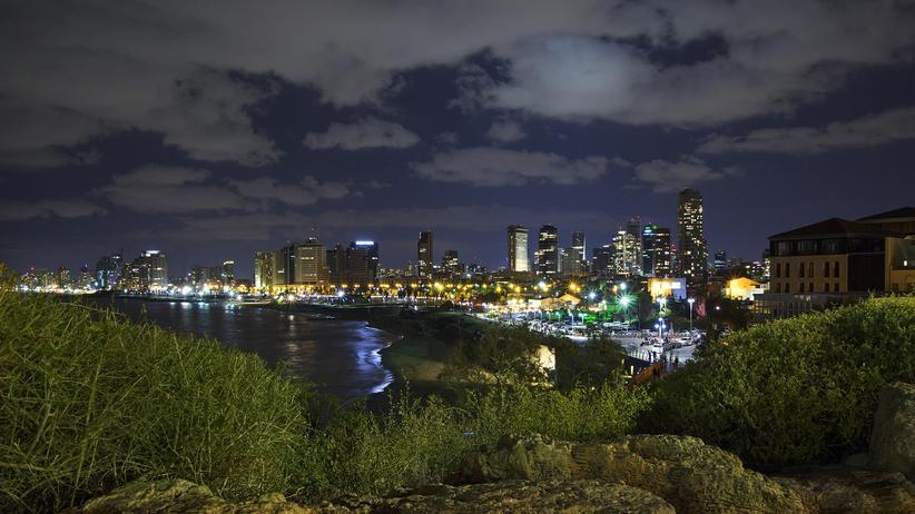 Die Skyline von Tel Aviv