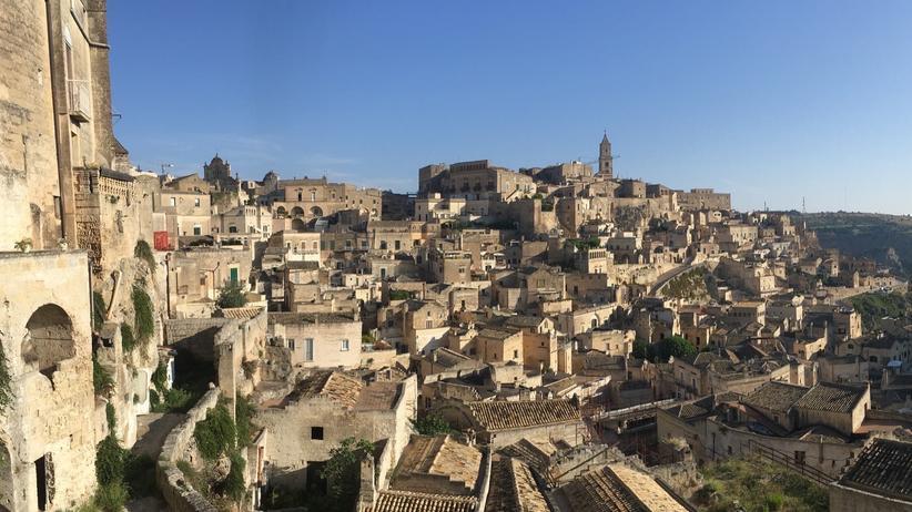 Süditalien: Die Altstadt von Matera