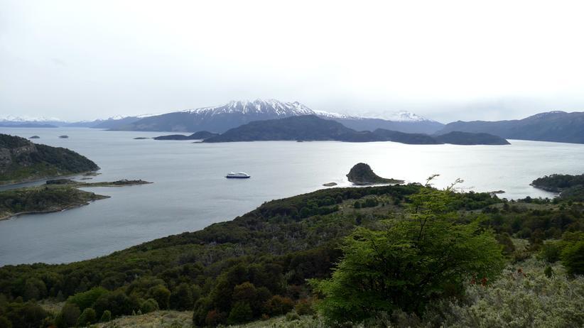 Kap Hoorn: Die Ventus Australis liegt im Beagle-Kanal zwischen Argentinien und Chile.