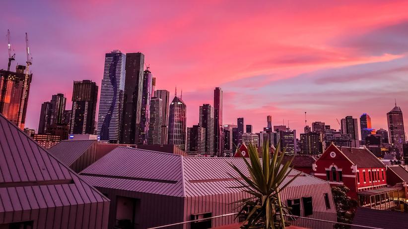 Melbourne: Mehr Glück geht nicht: Was ihre Heimat angeht tragen Melbournians die rosarote Brille.
