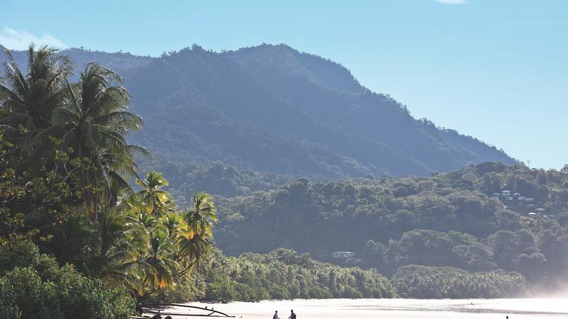 Costa Rica: Mit Glück kann man von Uvita aus Buckelwale erspähen. Und falls nicht, genießt man einfach den stillen Riesen Pazifik.