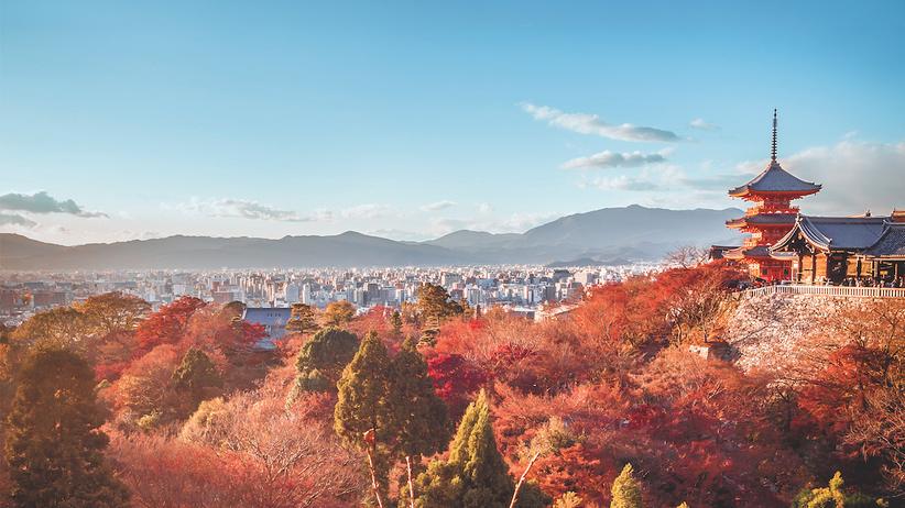Kyoto: Die Pilger der roten Stadt