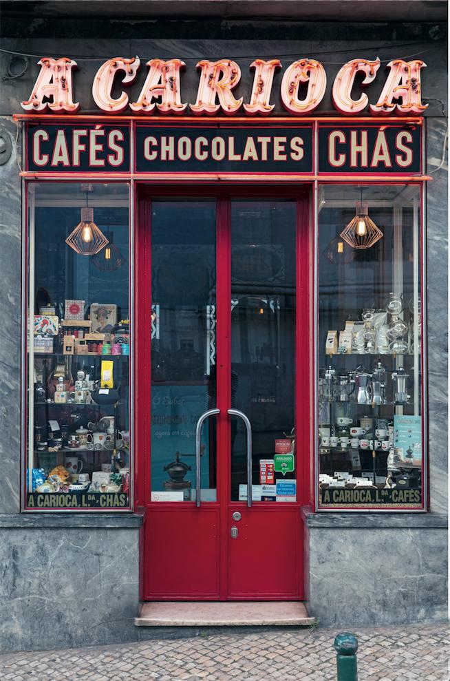 """Lissabon: Seit 80 Jahren gibt es bei """"A Carioca"""" vor allem Kaffee und Tee"""