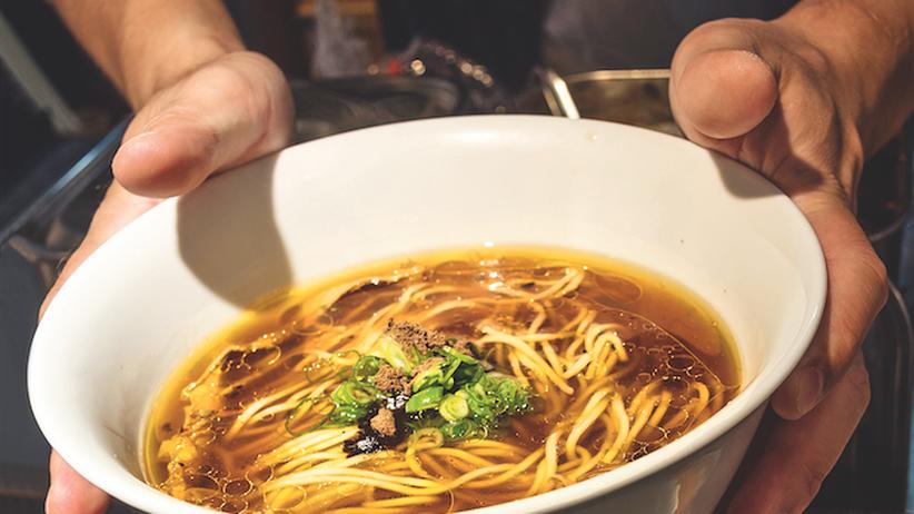 Ramen-Suppe: Heiße Ware