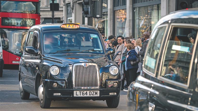 Taxifahrer in London: Die Londoner Taxifahrerprüfung gilt als einer der härtesten Tests der Welt.