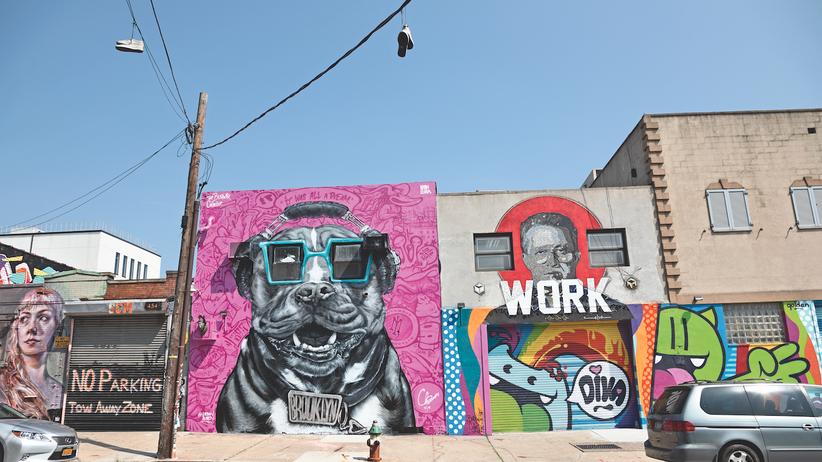 The Bushwick Collective: Brooklyn sprüht vor Farbe