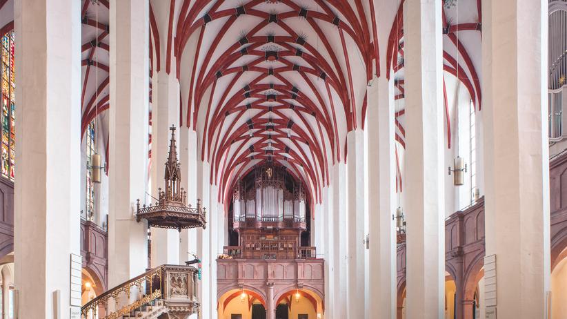 Thomaskirche in Leipzig: Bach-Fans im Himmel