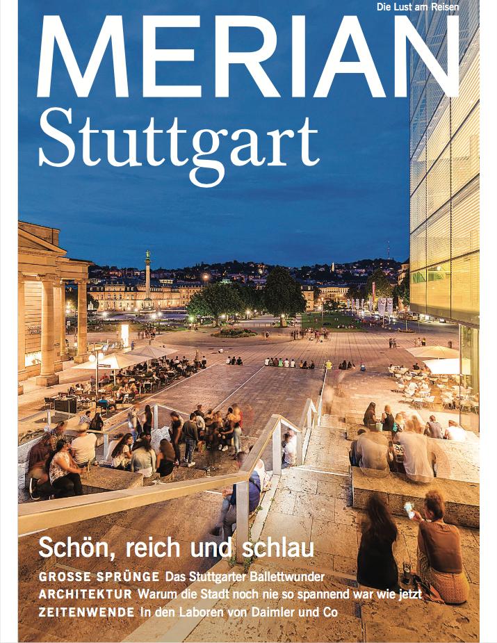 Architektur in Stuttgart: Dieser Artikel stammt aus MERIAN Heft Nr. 04/2018